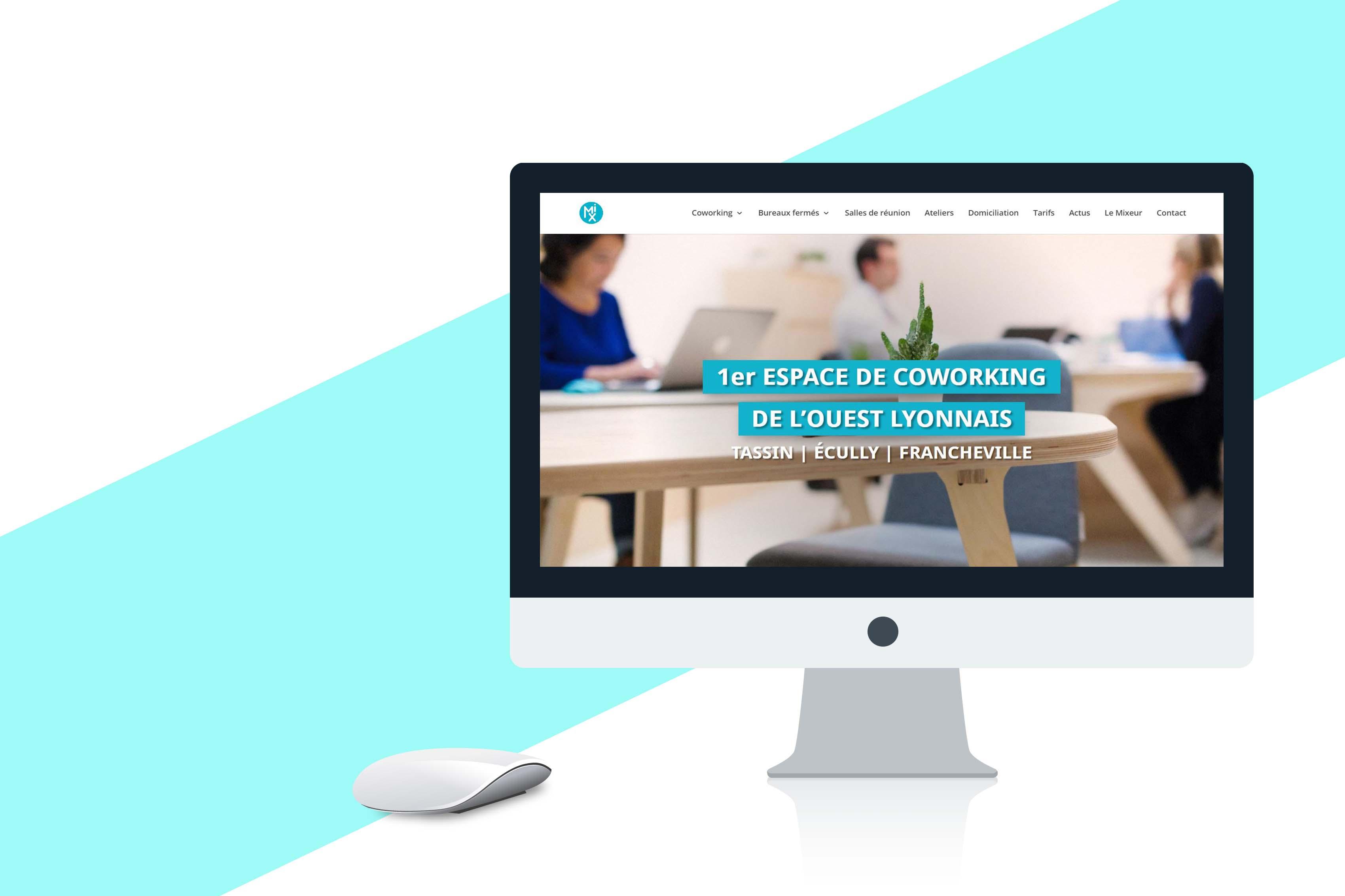 Webiste - MIX Coworking