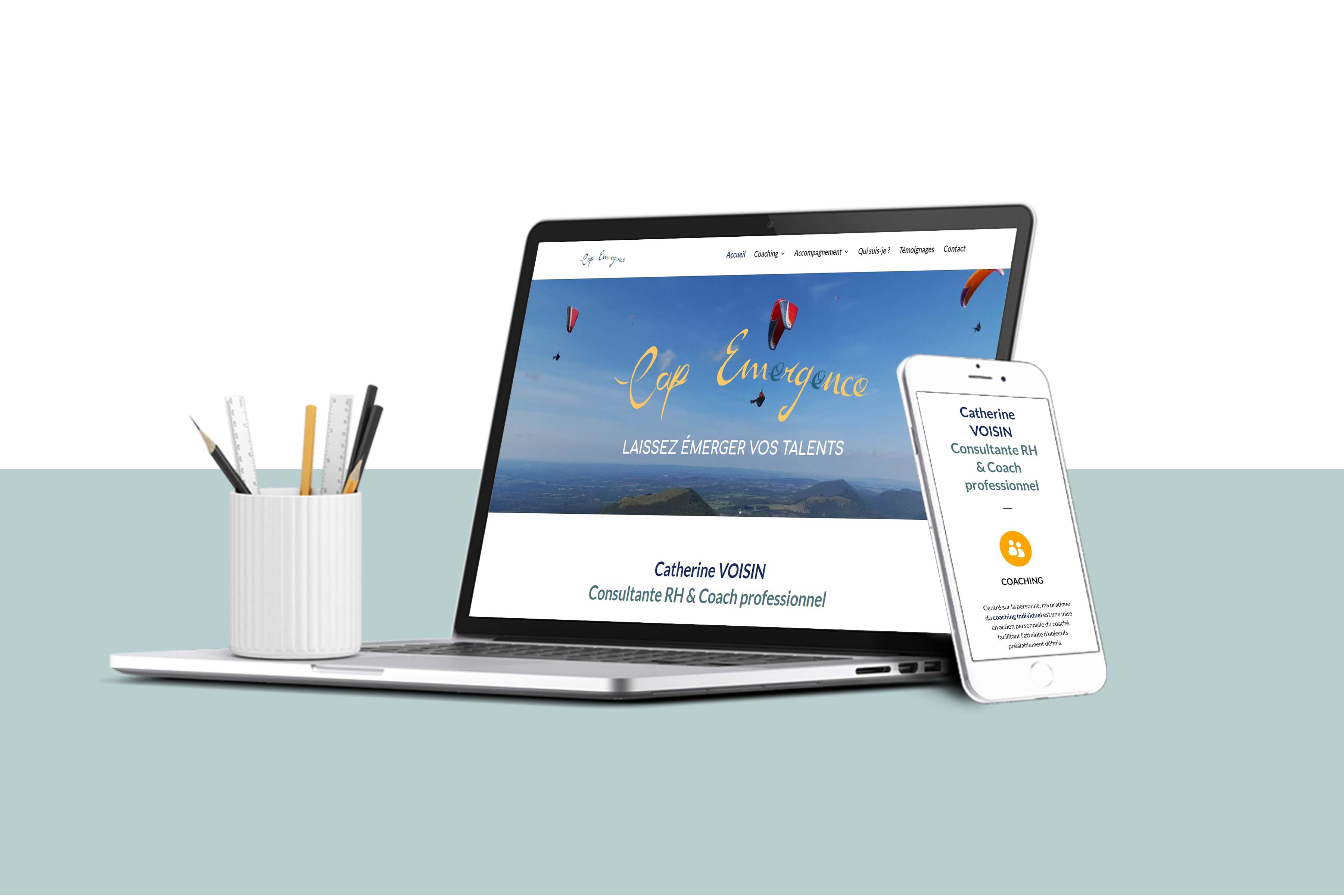 Website Cap Emergence
