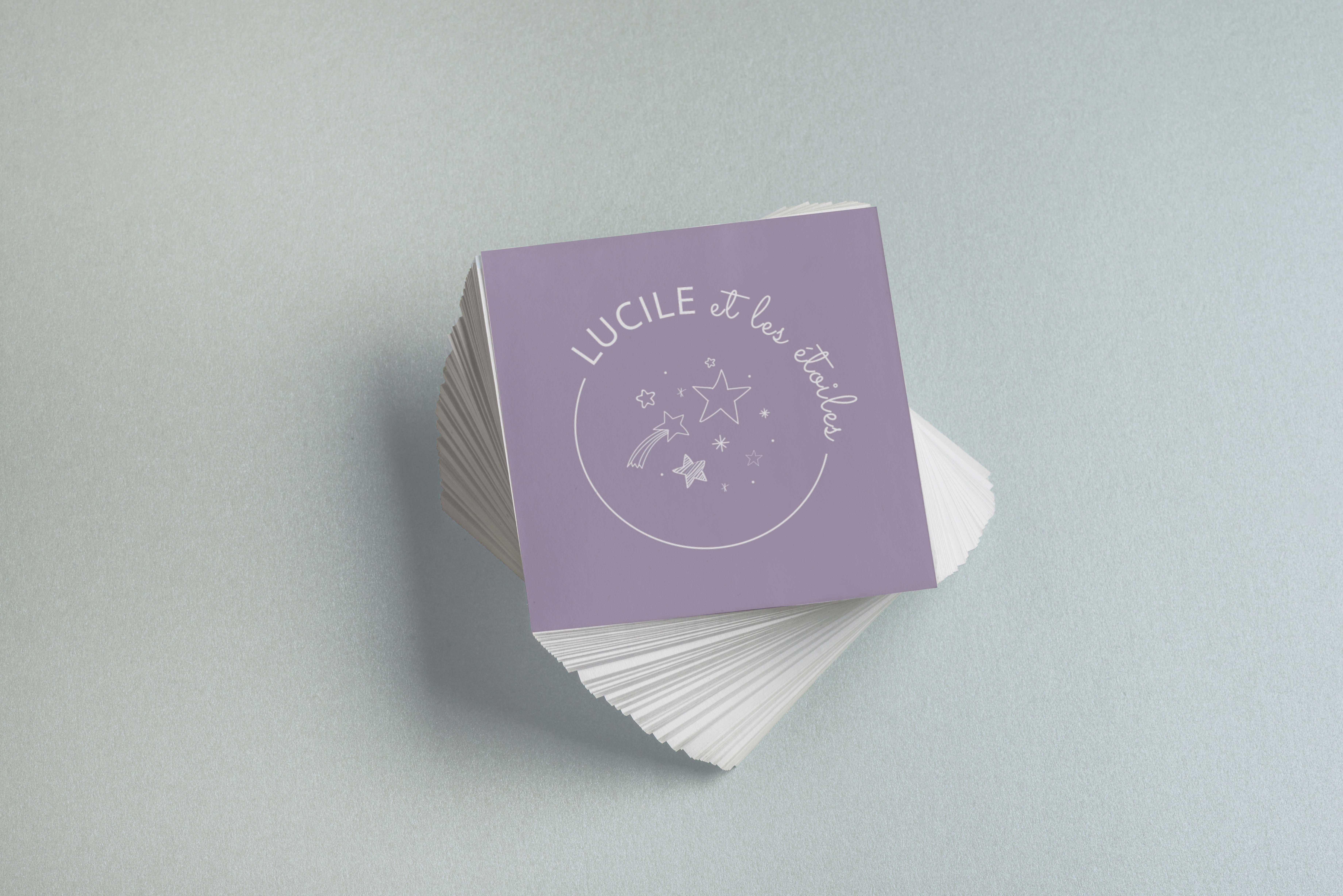 Logo Lucile et les étoiles 3