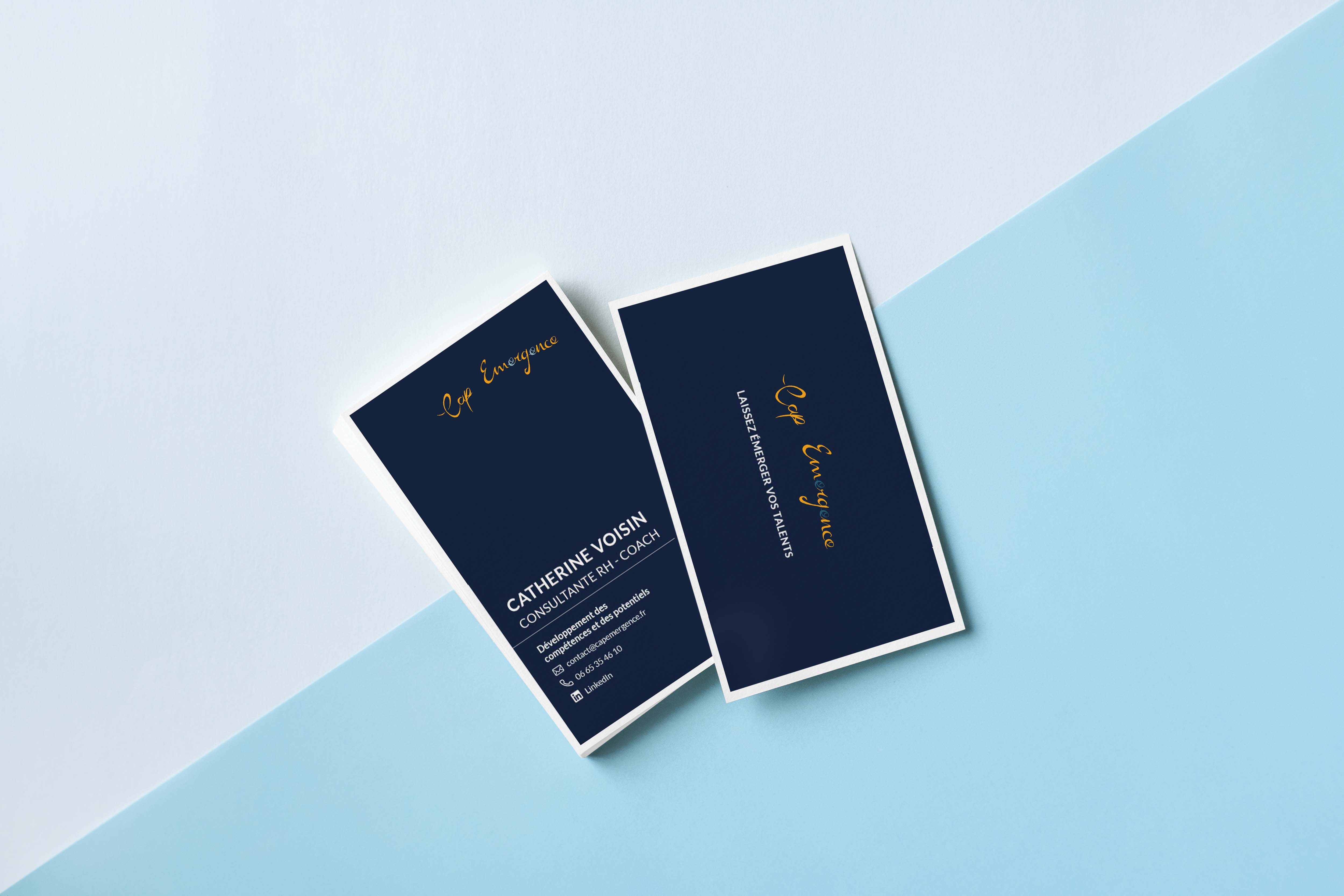 Graphic design - Cap Emergence