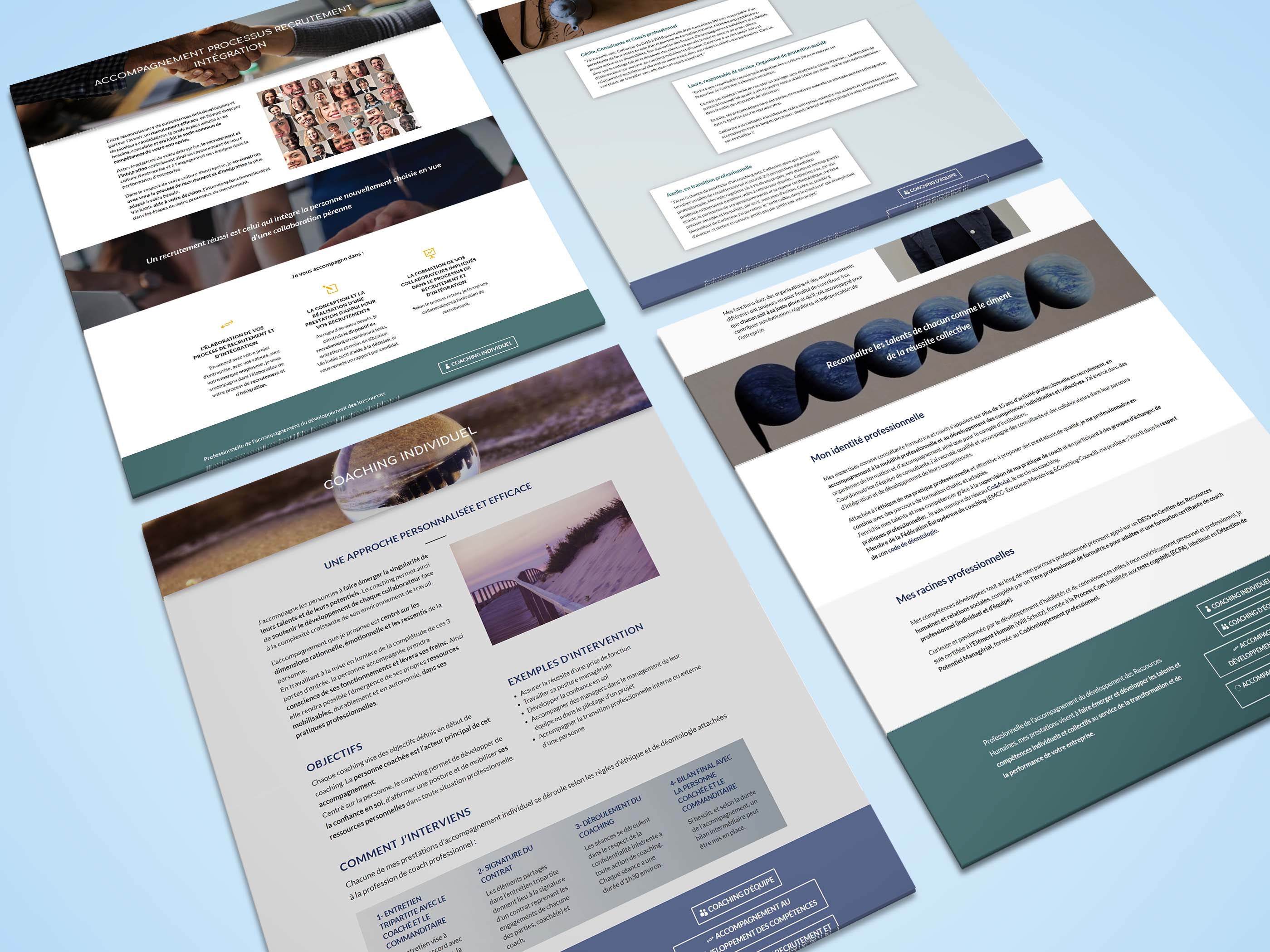 Webdesign Cap Emergence